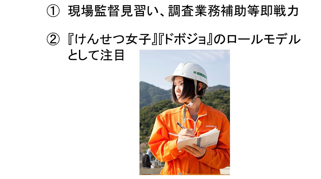 当社の支援・取り組みについて(新卒助成現場社員の採用(2013年))