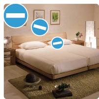セルフィール 寝室でマイナスイオン