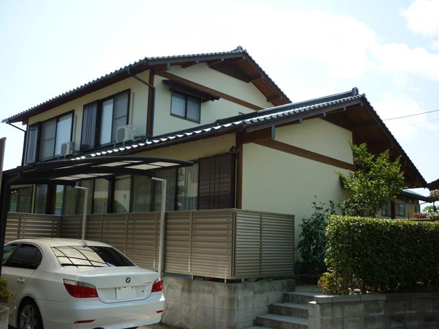 K様ご邸宅/2012年6月竣工 光触媒ハイドロテクト 竣工後02