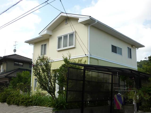 T様ご邸宅/2012年9月竣工 クリーンマイルドシリコン 他 施工後02