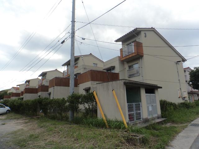 根県営住宅(出雲市直江団地)2・3号棟外壁改修工事 着工前09