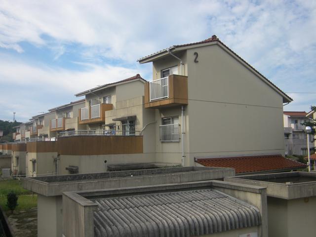 根県営住宅(出雲市直江団地)2・3号棟外壁改修工事 着工前06