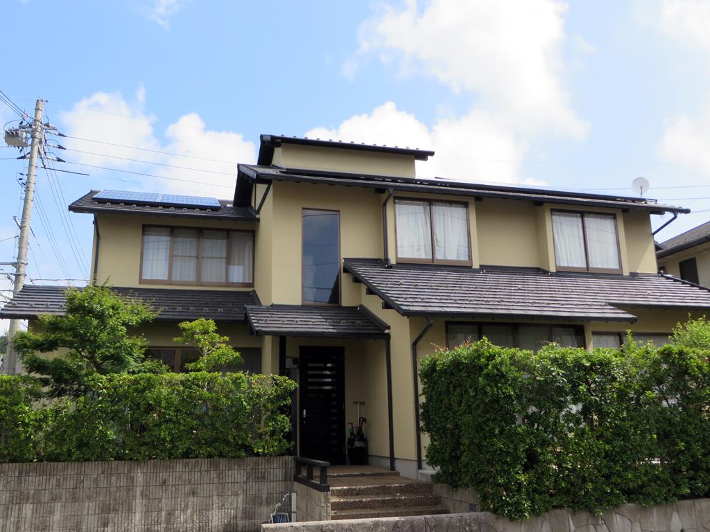 A様ご邸宅/2016年6月竣工 外壁:ナノコンポジットW / after1