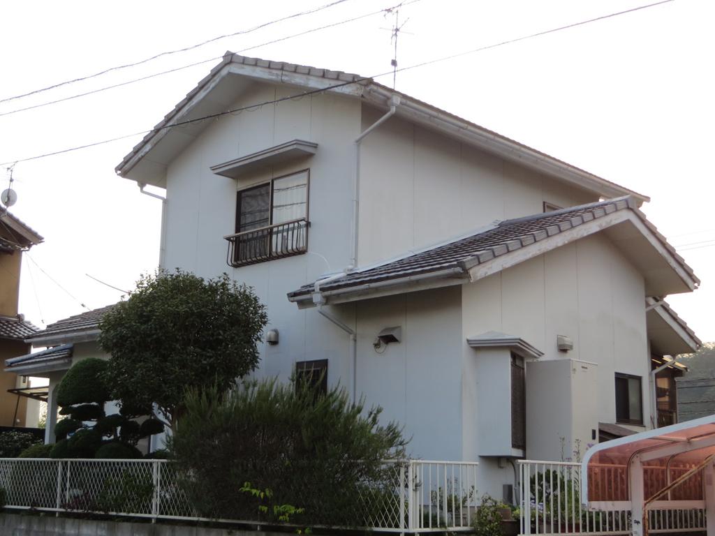 I様ご邸宅/2016年5月竣工 外壁:シリコンテックス/屋根:ヤネフレッシュSi before2