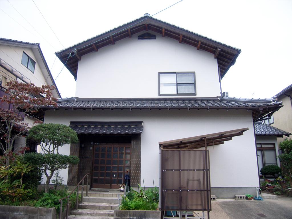 K様邸 松江市 外壁塗装 竣工