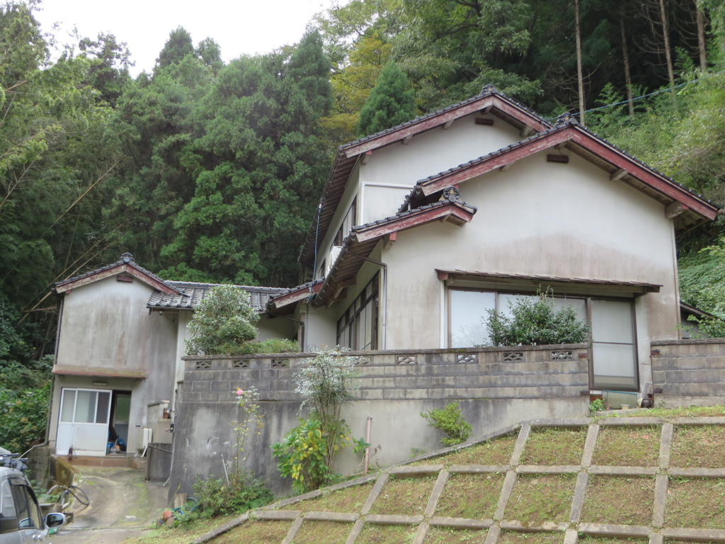M邸 松江市 外壁塗装 着工前