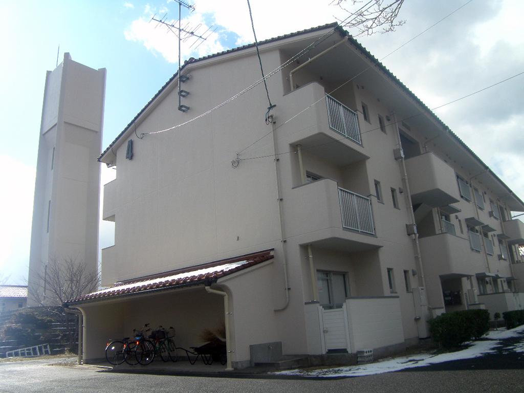 島根県営住宅(松江市新古曽志団地)4号棟外壁改修外工事 竣工3