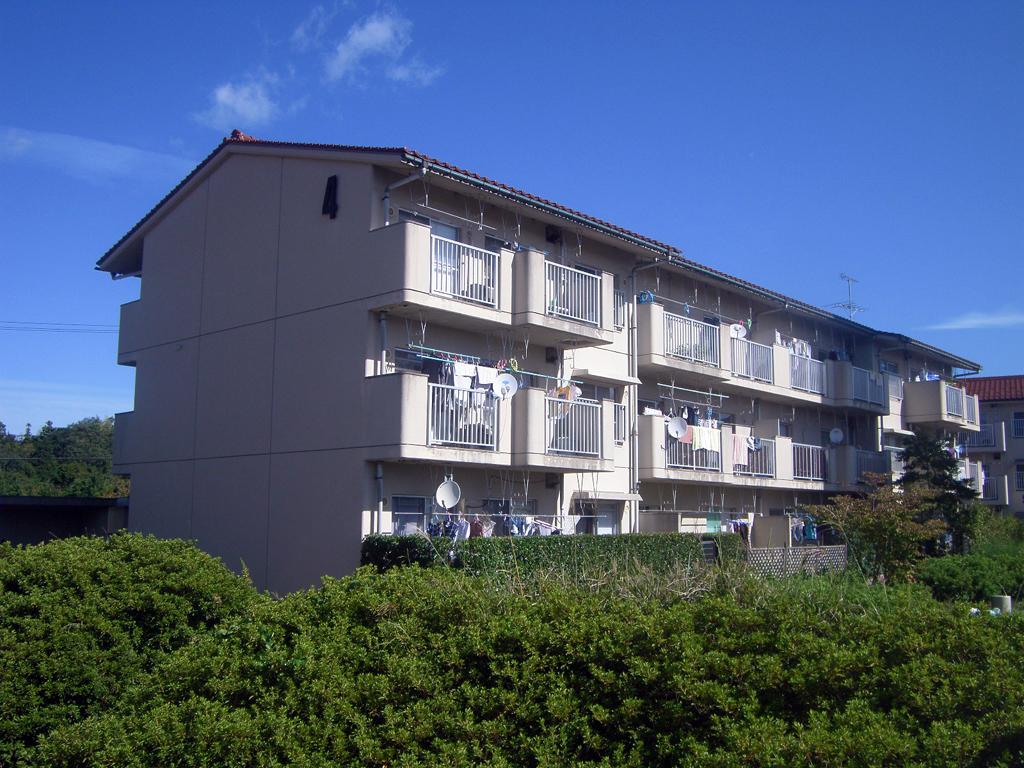 島根県営住宅(松江市新古曽志団地)4号棟外壁改修外工事 着工前0