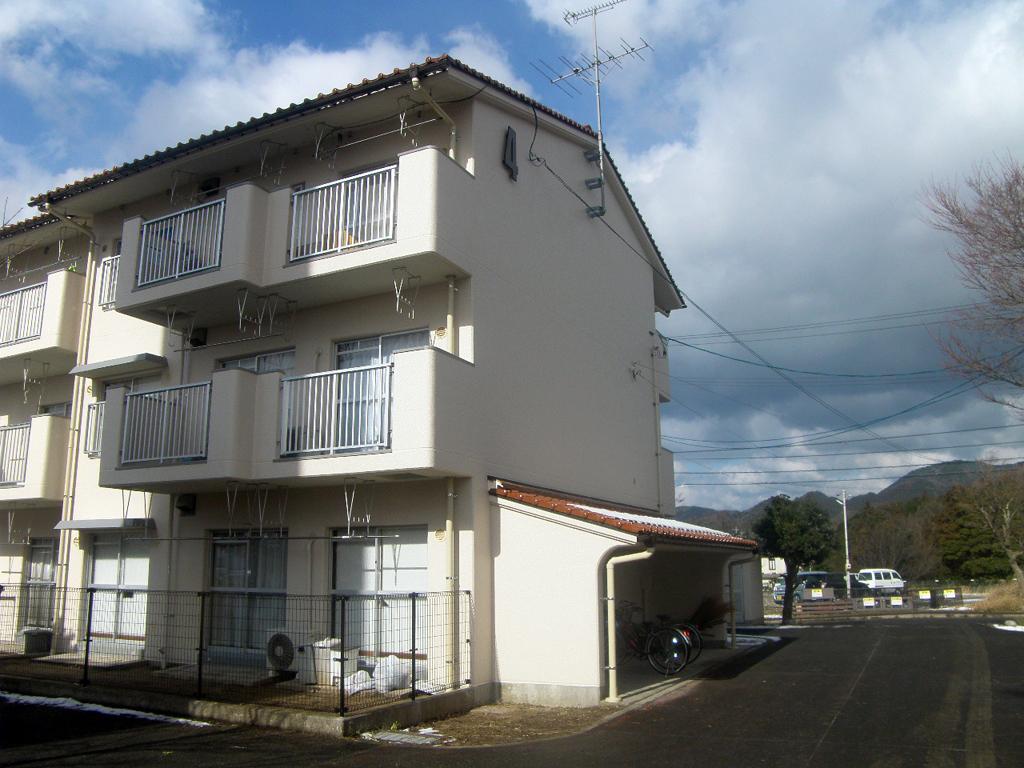 島根県営住宅(松江市新古曽志団地)4号棟外壁改修外工事 竣工2