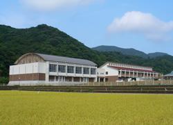 松江市立島根中学校  体育館