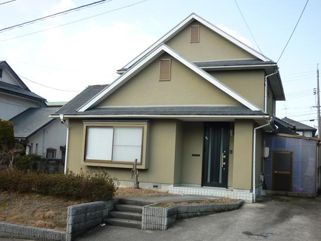 W様ご邸宅/2012年6月竣工/ナノコンポジットW/クールタイトSi/着工前1
