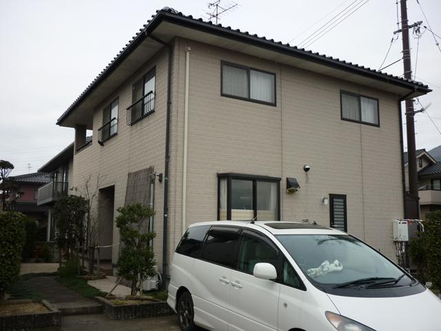 I様ご邸宅/2012年6月竣工 ナノコンポジットW 着工前1