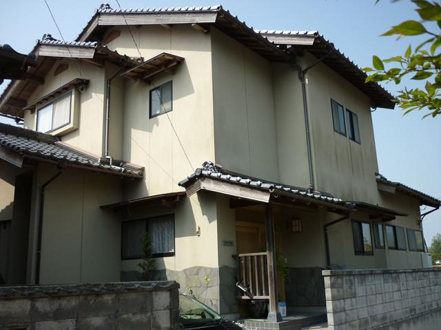 F様ご邸宅/2012年6月竣工 ナノコンポジットW 他 施工前1