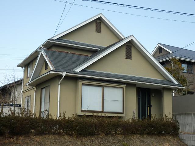 W様ご邸宅/2012年6月竣工/ナノコンポジットW/クールタイトSi/着工前3