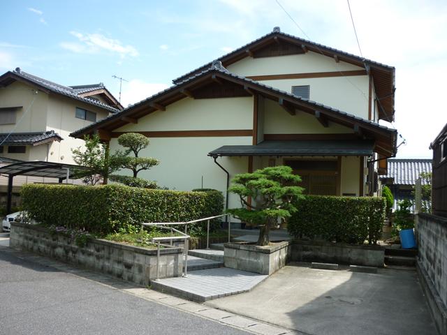 K様ご邸宅/2012年6月竣工 光触媒ハイドロテクト 竣工後01