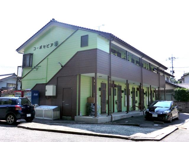 コーポセピア/2012年9月竣工 超低汚染型NAD特殊ポリウレタン樹脂塗料 竣工 外観TOP