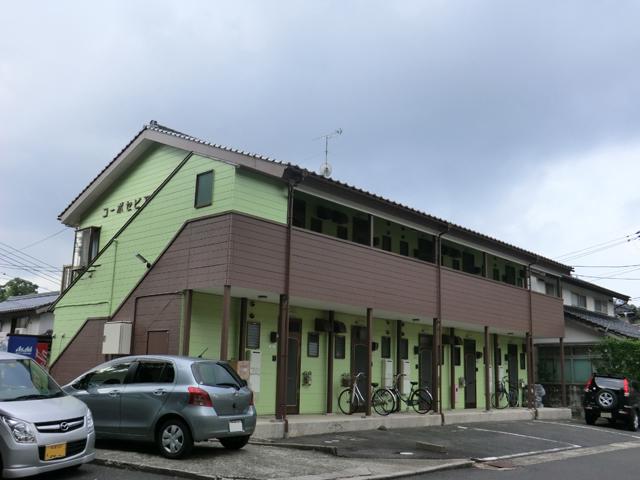 コーポセピア/2012年9月竣工 超低汚染型NAD特殊ポリウレタン樹脂塗料 竣工 外観2