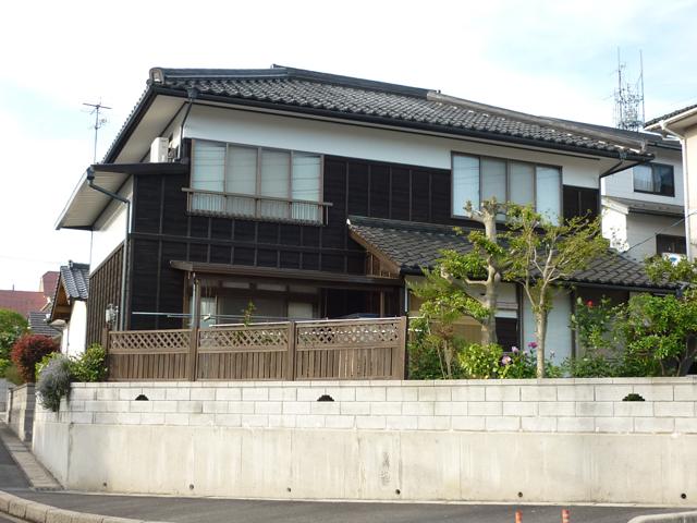S様ご邸宅/2013年4月竣工 外壁:キシラデコール 竣工後03