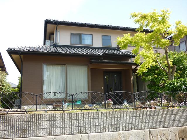 O様ご邸宅/2013年5月竣工 外壁:ナノコンポジットW 竣工後03