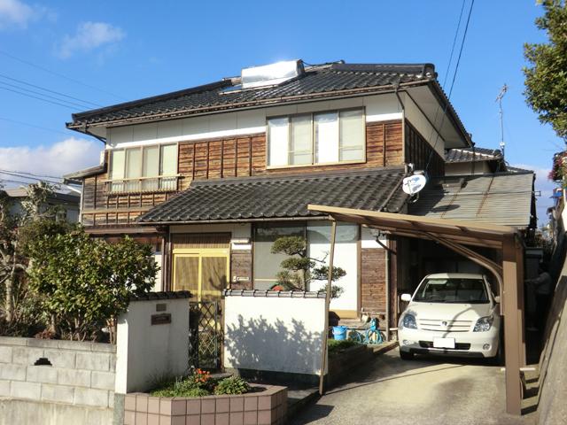 S様ご邸宅/2013年4月竣工 外壁:キシラデコール 施工前01