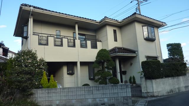 F様ご邸宅/2013年5月竣工 ナノコンポジットW/セラミガード 他 施工前01