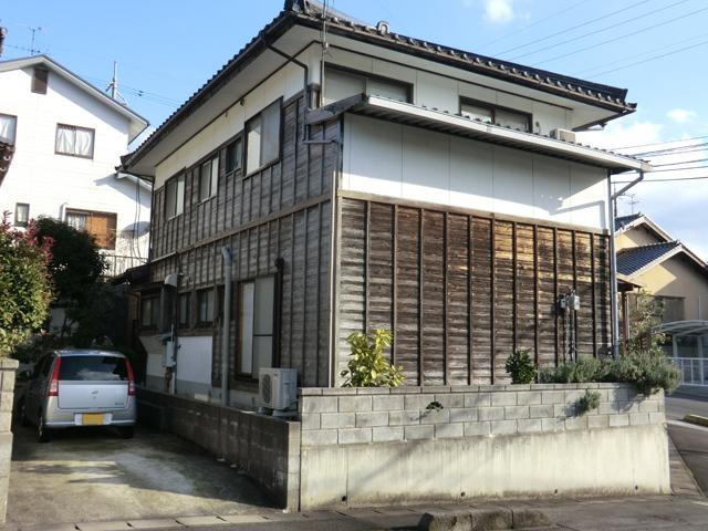 S様ご邸宅/2013年4月竣工 外壁:キシラデコール 施工前02