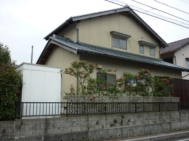 A様ご邸宅/2013年6月竣工 外壁:ナノコンポジットW 施工前02