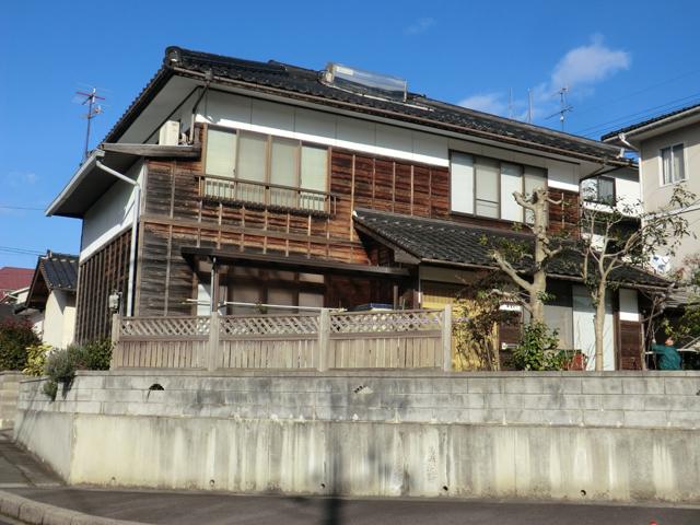 S様ご邸宅/2013年4月竣工 外壁:キシラデコール 施工前03