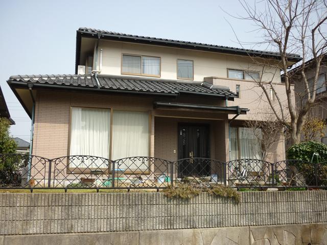 O様ご邸宅/2013年5月竣工 外壁:ナノコンポジットW 施工前03