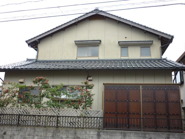A様ご邸宅/2013年6月竣工 外壁:ナノコンポジットW 施工前03