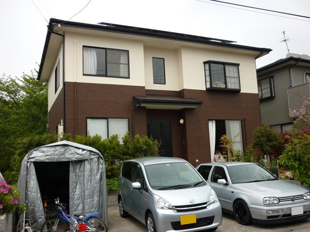 I様ご邸宅/2013年4月竣工 ナノコンポジットW/クールタイトSi 他 竣工