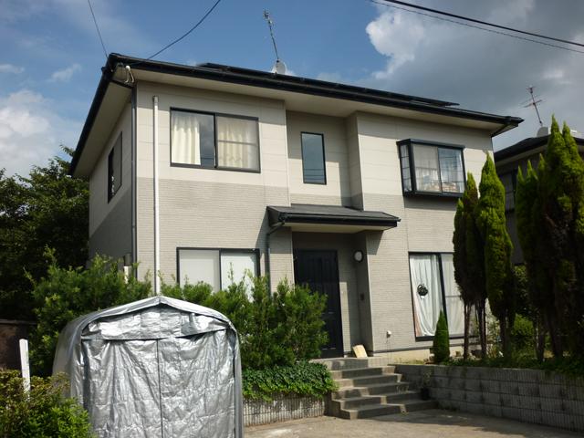 I様ご邸宅/2013年4月竣工 ナノコンポジットW/クールタイトSi 他 施工前