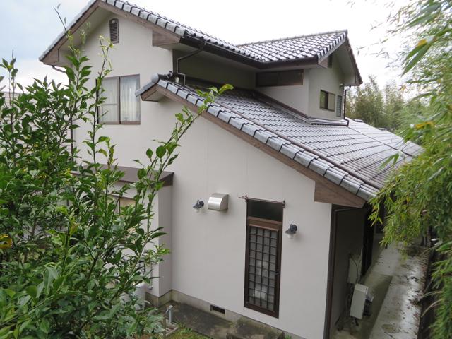 S様ご邸宅/2013年11月竣工 外壁:ナノコンポジットW 他