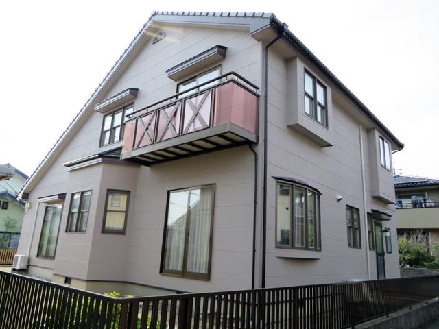 K様ご邸宅/2014年5月竣工 外壁:ナノコンポジットW 竣工3