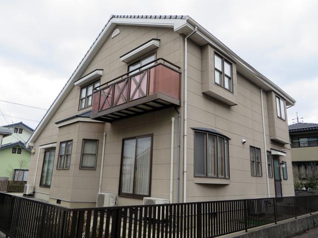 K様ご邸宅/2014年5月竣工 外壁:ナノコンポジットW 着工前3