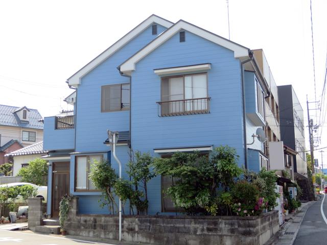 K様ご邸宅/2014年5月竣工 外壁:クリーンマイルドシリコン 屋根:ヤネフレッシュSi 竣工1