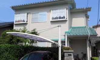 N様ご邸宅/2014年6月竣工 外壁:ナノコンポジットW 竣工1