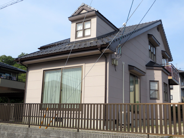 K様ご邸宅/2014年5月竣工 外壁:ナノコンポジットW 竣工2