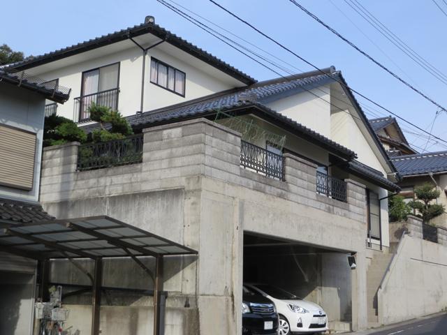 竣I様ご邸宅/2014年11月竣工 外壁:ナノコンポジットW 竣工3