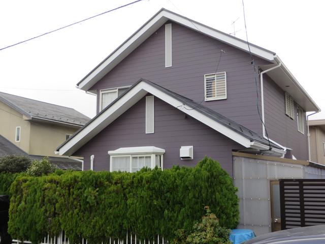 S様ご邸宅/2014年12月竣工 外壁:ナノコンポジットW/屋根:ヤネフレッシュSi 竣工3