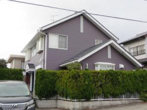 S様ご邸宅/2014年12月竣工 外壁:ナノコンポジットW/屋根:ヤネフレッシュSi 竣工1