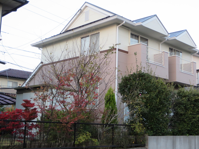 Y様ご邸宅/2014年11月竣工 外壁:ナノコンポジットW/屋根:クールタイトSi 竣工7