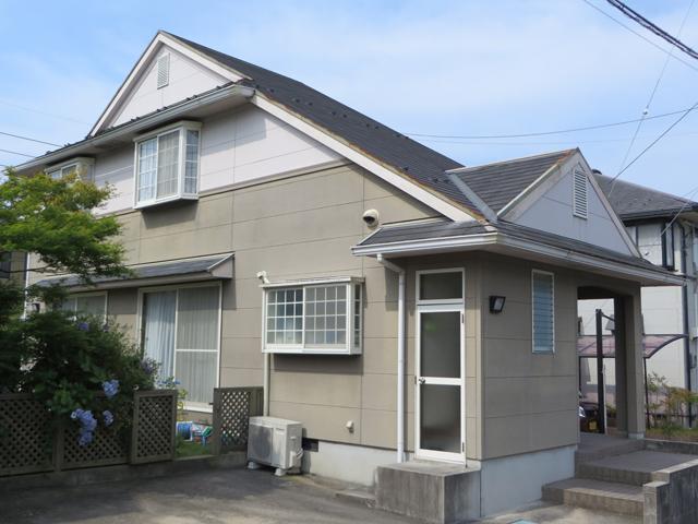 Y様ご邸宅/2014年11月竣工 外壁:ナノコンポジットW/屋根:クールタイトSi 着工前3