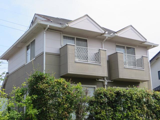 Y様ご邸宅/2014年11月竣工 外壁:ナノコンポジットW/屋根:クールタイトSi 着工前6