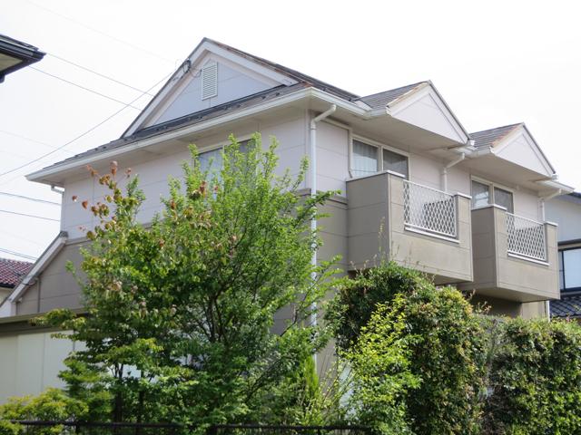 Y様ご邸宅/2014年11月竣工 外壁:ナノコンポジットW/屋根:クールタイトSi 着工前7