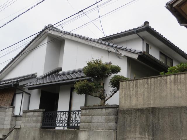 I様ご邸宅/2014年11月竣工 外壁:ナノコンポジットW 着工前1