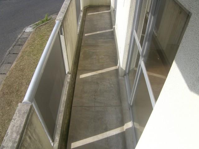 県営淞北台団地3号棟 外壁/2014年12月改修 着工前05