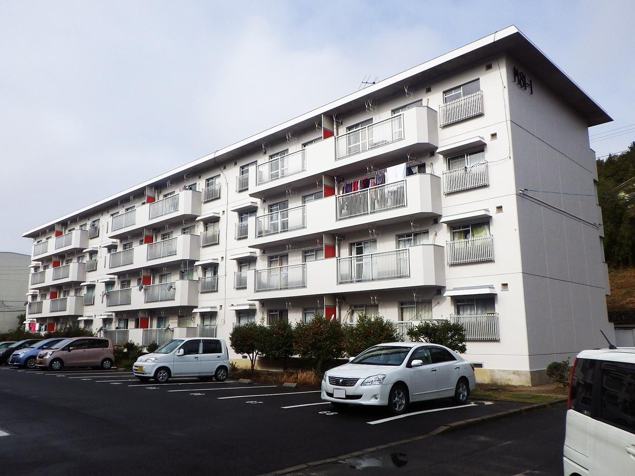 松江市優良建設工事等表彰 市営来美アパート1号棟外壁等改修工事