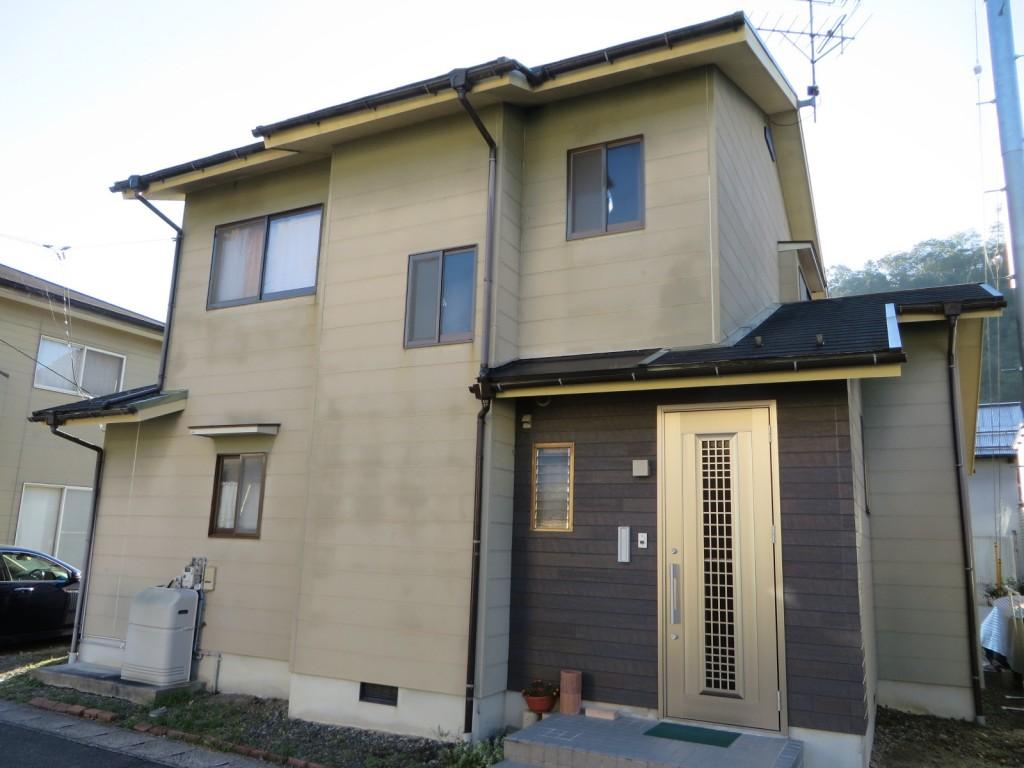 S様ご邸宅/2015年4月竣工 外壁:ナノコンポジットW/屋根:クールタイトSi 着工前1