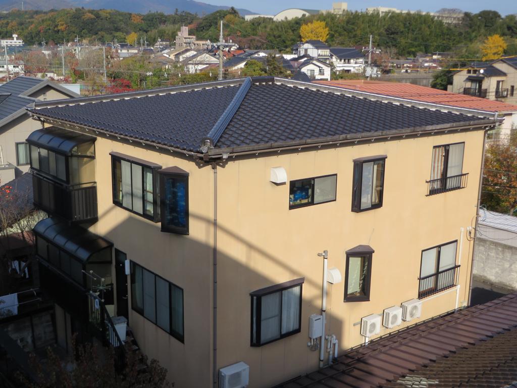 S様ご邸宅/2015年5月竣工 外壁:シリコンテックス/木部:キシラデコール 着工前2